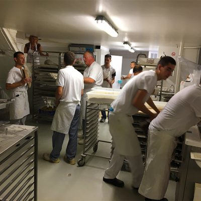 Formation en boulangerie, le fournil