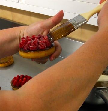 Une pâtisserie simple de qualité