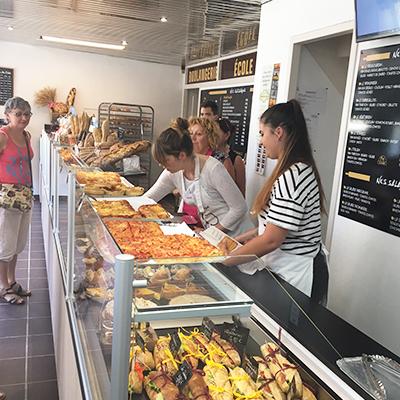 Boulangerie École l'Aura, formation en vente