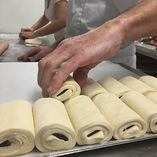 Les métiers de la pâte