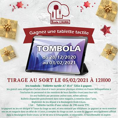 TIRAGE AU SORT LE 05/02/2021 À 12H00